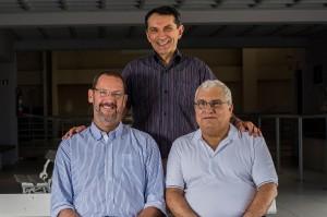 Desde 1993, os diretores Ernesto, João Tomaz e Messias trabalham em sintonia para implantar as melhores propostas pedagógicas no Contato