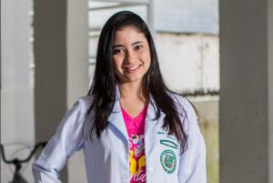 Maria Carolina evitou comparações de notas durante a preparação para o vestibular