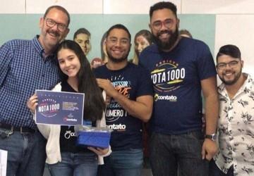 Projeto Redação Nota 1000 estimula produção textual